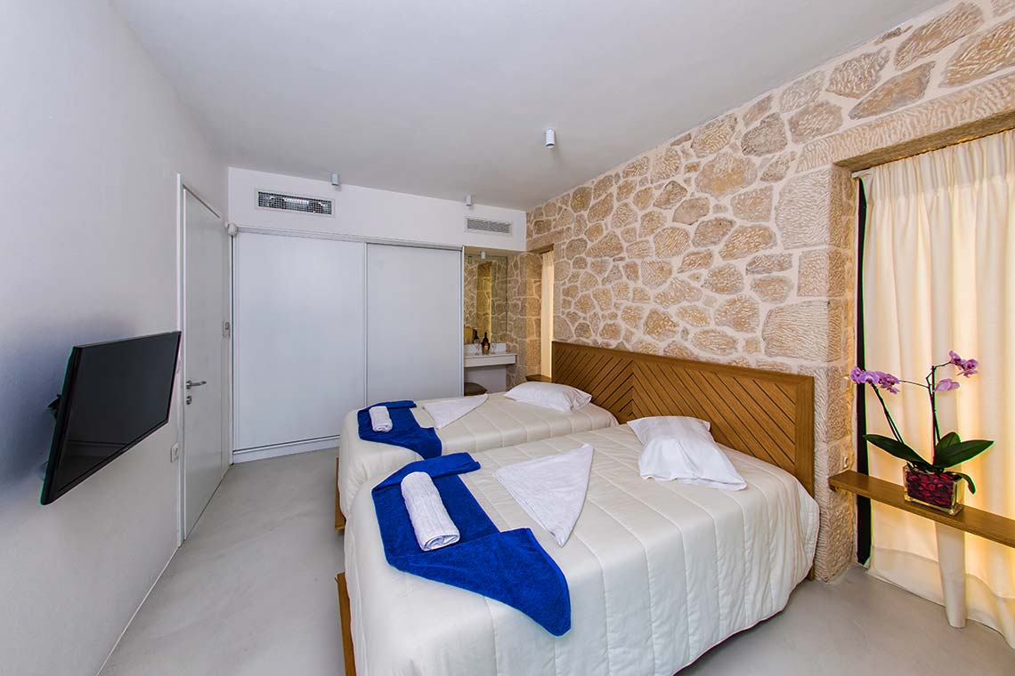 Bedroom - Villas in Arillas Corfu