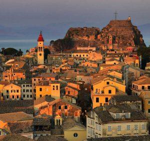 Corfu Town - Villas in Arillas Corfu