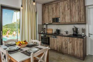 Dining Room - Villas in Arillas Corfu