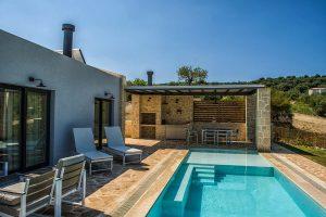 Swimming Pool - Villas in Arillas Corfu