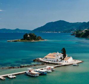 Kanoni Corfu - Villas in Arillas Corfu