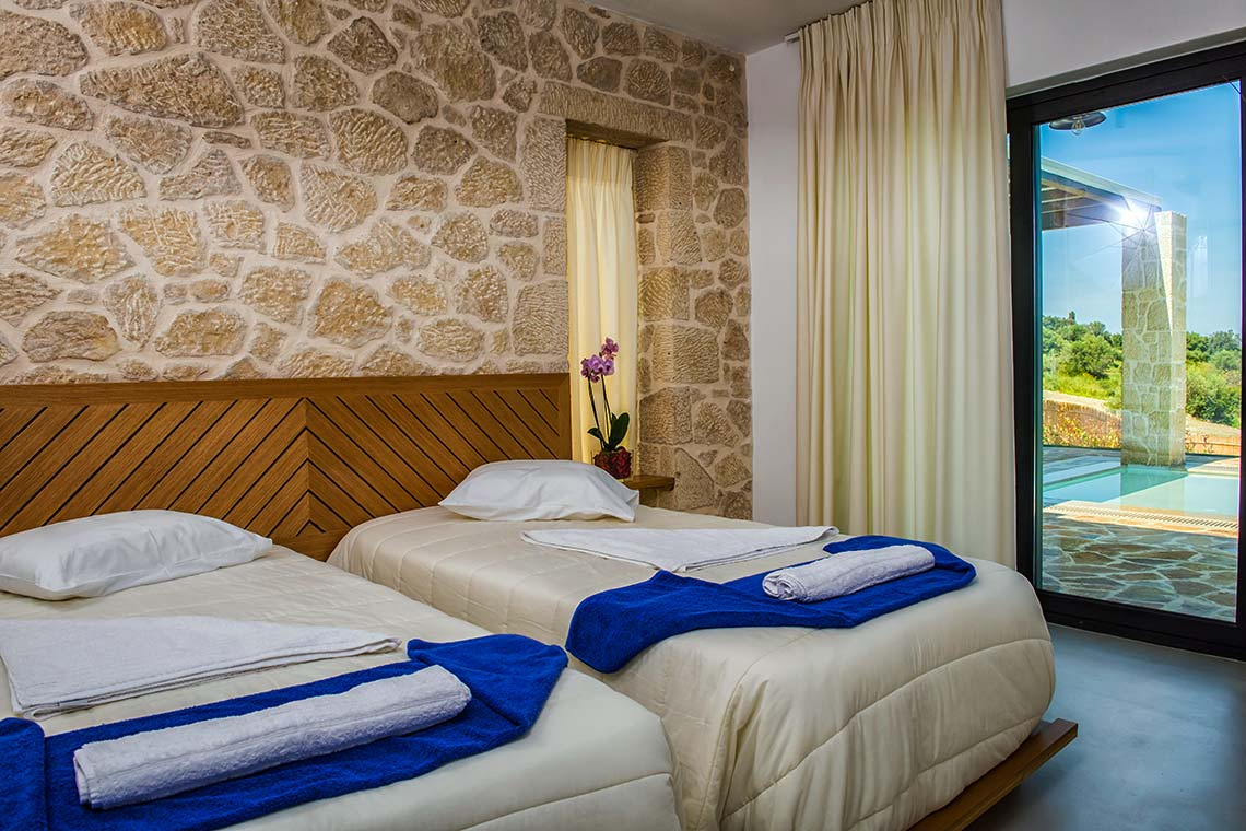 Second Bedroom - Villas in Arillas Corfu